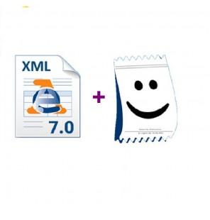 aggiornamento tracciato XML...