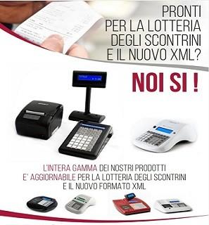 I nostri RT sono predisposti per tracciato Xml7 e lotteria_scontrini